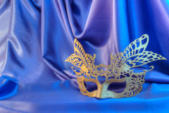 Maschera e divertimento di carnevale Fotografie Stock