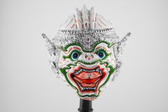 Maschera gigante tailandese tradizionale di Khon Fotografia Stock Libera da Diritti