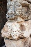 Maschera greca del teatro Immagini Stock Libere da Diritti