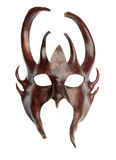 Maschera isolata del davil Fotografia Stock Libera da Diritti
