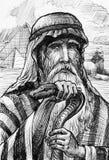 Maschera Moses nell'Egitto Immagini Stock