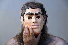 Maschera protezione due Fotografie Stock Libere da Diritti