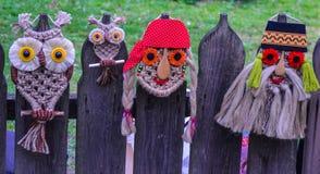 Maschera rumena tradizionale Fotografia Stock
