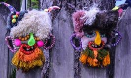 Maschera rumena tradizionale Immagine Stock