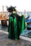 Maschera in San Marco Fotografia Stock