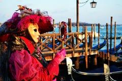 Maschera in San Marco Immagine Stock Libera da Diritti