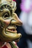 Maschera sorridente fotografia stock