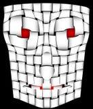 Maschera spaventosa Fotografie Stock Libere da Diritti