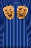Maschera teatrale Fotografia Stock Libera da Diritti