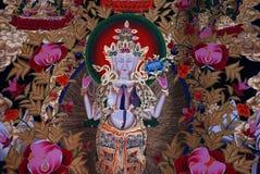 Maschera tibetana Immagine Stock