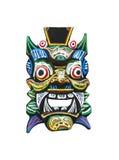 Maschera tradizionale di balinese Fotografia Stock Libera da Diritti