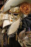 Maschera a Venezia Italia Fotografia Stock Libera da Diritti