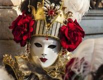 Maschera veneziana Fotografie Stock Libere da Diritti