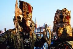 Maschera veneziana Fotografia Stock