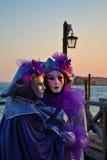 Maschera veneziana Fotografie Stock