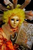 Maschera veneziana Fotografia Stock Libera da Diritti