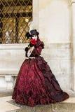 Maschera veneziana di carnevale Immagine Stock