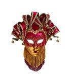 Maschera veneziana isolata Immagini Stock