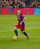 Mascherano (FC Barcelona) Lizenzfreie Stockbilder