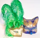 Maschere del carnevale di Venezia immagine stock libera da diritti