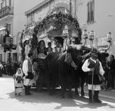 Maschere della Sardegna Fotografie Stock