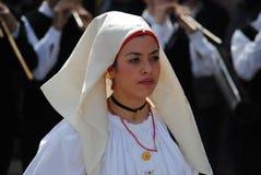 Maschere della Sardegna Immagini Stock Libere da Diritti