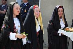 Maschere della Sardegna Fotografie Stock Libere da Diritti
