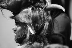 Maschere della Sardegna Immagine Stock Libera da Diritti