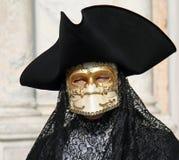 Maschere di carnevale del carnevale di Venezia Fotografia Stock Libera da Diritti