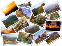 Maschere di corsa di Gran Canaria immagine stock
