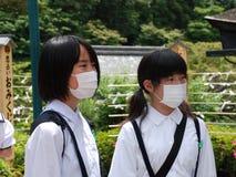 Maschere di protezione Immagini Stock