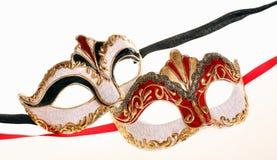 Maschere di Venecian Immagini Stock