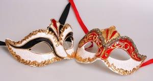 Maschere di Venecian Fotografie Stock