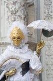 Maschere di Venezia, carnevale 2019 fotografie stock
