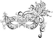 Maschere per un travestimento royalty illustrazione gratis