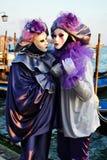 Maschere in San Marco Fotografia Stock Libera da Diritti
