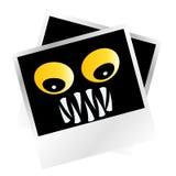 Maschere spaventose del mostro Immagine Stock