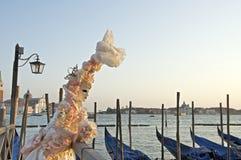 Mascherina 2012 di carnevale di Venezia in San Marco Fotografia Stock