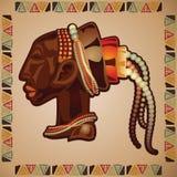 Mascherina africana Immagini Stock