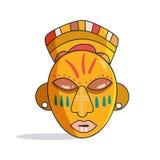 Mascherina africana colorful Vettore illustrazione di stock