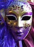 Mascherina al carnevale a Venezia Fotografia Stock