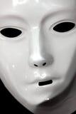 Mascherina bianca Fotografia Stock Libera da Diritti