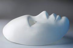 Mascherina bianca Immagine Stock