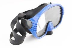 Mascherina blu Fotografia Stock Libera da Diritti