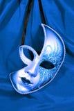 Mascherina blu Fotografie Stock Libere da Diritti