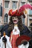 Mascherina - carnevale - Venezia - l'Italia Fotografia Stock Libera da Diritti