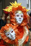Mascherina - carnevale - Venezia - l'Italia Immagine Stock Libera da Diritti
