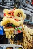 Mascherina cinese del leone Fotografia Stock