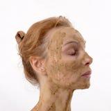 Mascherina cosmetica Immagini Stock Libere da Diritti