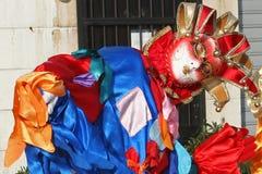 Mascherina del carnevale di Venezia Fotografie Stock